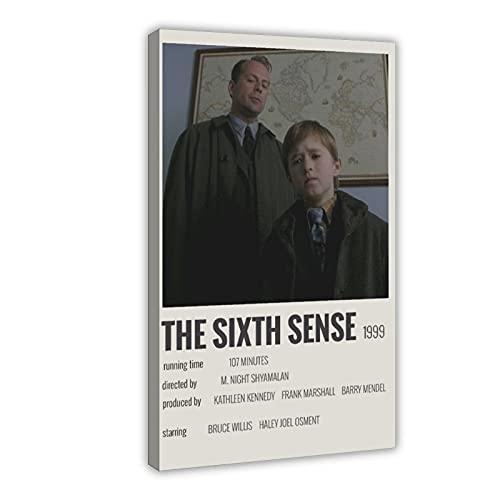 Póster clásico de la película The Sexth Sense 3 - Póster de lona para dormitorio, decoración deportiva, paisaje, oficina, habitación, marco de regalo, 30 x 45 cm