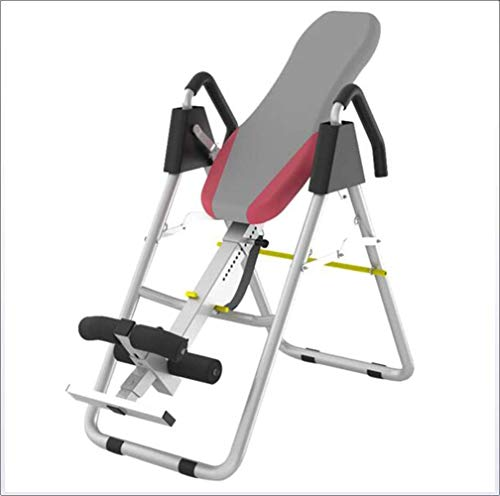 Buy Bargain ZYK Inversion Table for Back Pain Relief, Foldable Heavy Duty Inverted Gravity Table for...