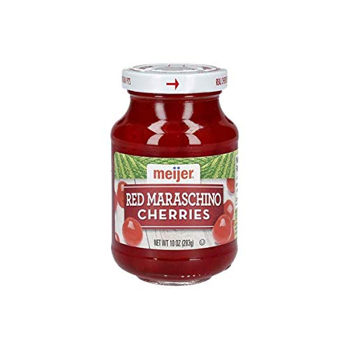 Meijer Maraschino Cherries with Stems - 1 Jar (10 oz)
