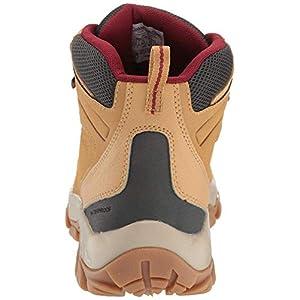 Columbia Men's Newton Ridge Plus II Waterproof Hiking Shoe, Curry, red Jasper, 11 Regular US