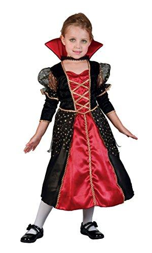 Boland-29681 vampiro Disfraz, color rojo/negro, 3-4 años (Ciao Srl 29681)