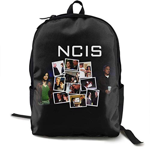 NCIS Unisex Backpack Laptop for Travel School Outdoor Hiking Bag