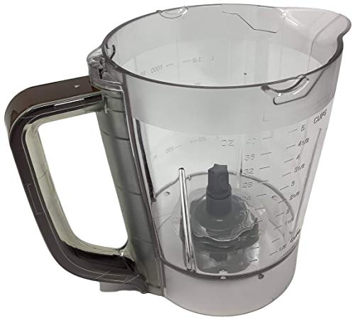Ninja 40oz Pitcher Bowl for BL200 BL201 BL205 BL206 BL207 700w Kitchen System Pulse Blender, Brown