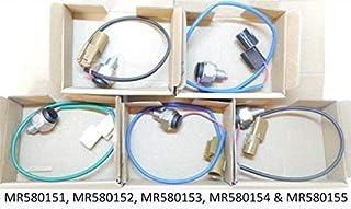NO LOGO KF-Manche 4pcs Car Chrome Porte Remplacement poign/ée for Mitsubishi Pajero 1992 1993 1994 1995 1996 1997 Accessoires Voiture poign/ée de Porte