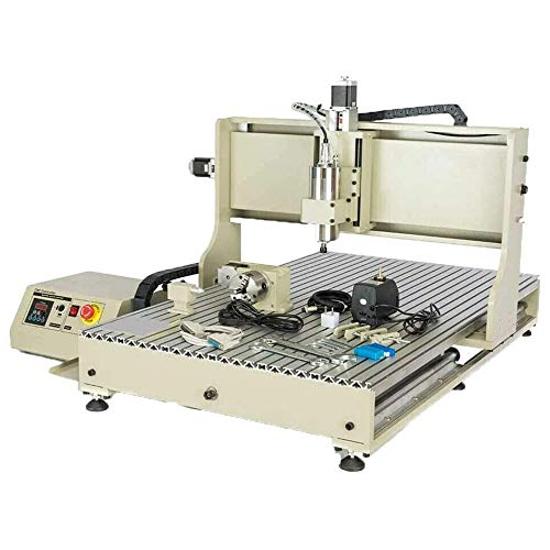 BoTaiDaHong USB 4-AXIS 2200W 6090 Router Engraver Machine Engraving Desktop Milling Metal Milling Machine 2.2KW VFD & Spindle