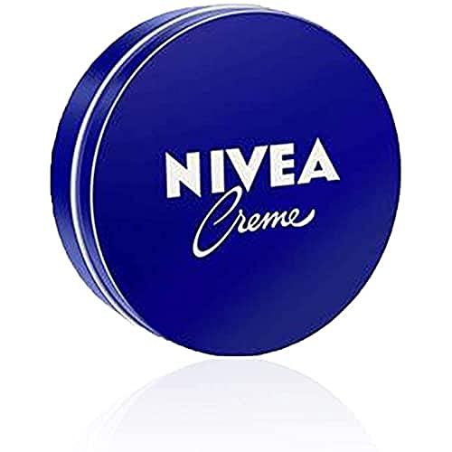 NIVEA Creme - Crema hidratante corporal y facial, Pack de 1 x 75 ml