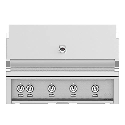 Hestan 42-Inch Built-in Propane Gas Grill W/Sear Burner & Rotisserie - Steeletto - GMBR42-LP-SS