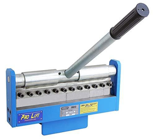 Pro-Lift-Werkzeuge Abkantmaschine 300 mm x 1,2 mm für Schraubstock Schwenkbiegemaschine Abkantbank Universal-Biegemaschine Winkel-Bieger manuell Kantbank