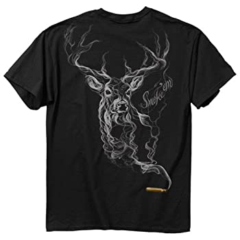 Buckwear Smoke-Deer Short Sleeve Tee Black XXX-Large