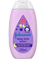 JOHNSON'S Baby Moisturising Lotion - Sleep Time, 200ml