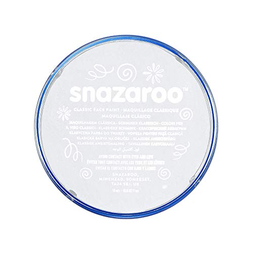 Snazaroo - Maquillage - Galet de Fard Aquarellable - 18 ml - Blanc