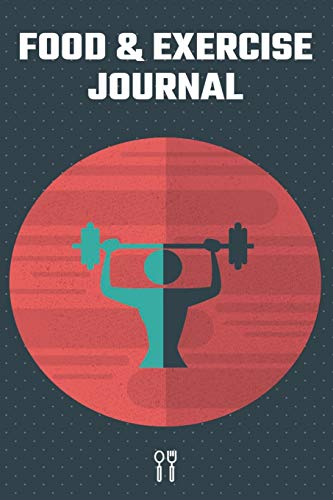 Food & Exercise Journal: Funny Daily Food Diary, Fitness Journal, Diet Planner for Healthy Living and Weight Loss - for Men, Women & Kids