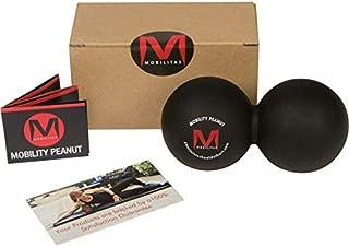 Mobilitas Mobility Peanut - The Original Massage Peanut & Deep Tissue Mobility Ball. Stronger Grip and Durability - Extra Firm - Sanitizes Easily