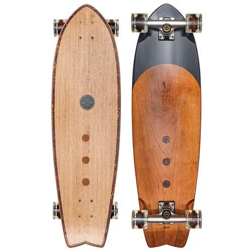 GLOBE Skateboards Chromatic Cruiser Complete Skateboard, Cherrywood/Tortoise