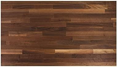 John Boos WALKCT-BL4827-V Blended Walnut Counter Top with Varnique Finish, 1.5