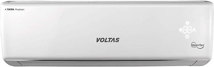 Voltas 1.5 Ton Hot and Cold Inverter Split AC (White)