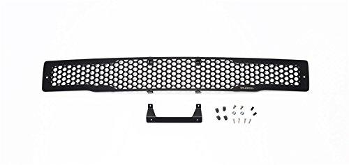 Putco 88160 Black Stainless Steel Punch Design Bumper Grille