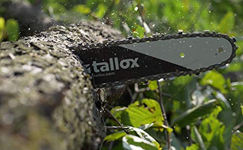 tallox 3 20 inch Chainsaw Chains .325 Inch Gauge .050 Inch Pitch 78 Drive Links Full Chisel fits Echo, Husqvarna