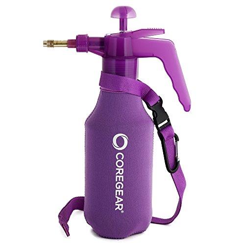 COREGEAR (Ultra Cool JR XL USA Misters 1 Liter Mister & Sprayer Personal Water Pump with Full Neoprene Jacket (Purple)