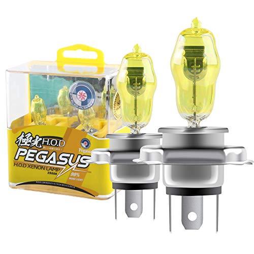 LUNEX H3 SUPER YELLOW 453 Scheinwerfer Halogenbirnen Lampen Gelbe Nebellichter 12V 55W PK22s 2300K duobox 2 St/ücke