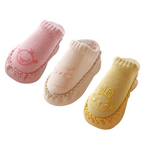 QinMMROPA 5 pares calcetines de algod/ón bowknot para beb/é ni/ños ni/ñas de oto/ño e invierno calcetines de vestir calcetines largos altos calcetines infantiles calcetines reci/én nacidos