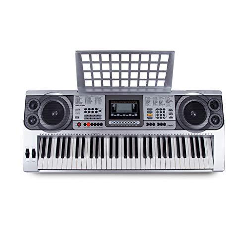 yankai 61 Schlüssel Klavier Tragbar Elektronische Tastatur, LCD-Digitalanzeige, Geeignet Für Erwachsene, Kinder, Anfänger