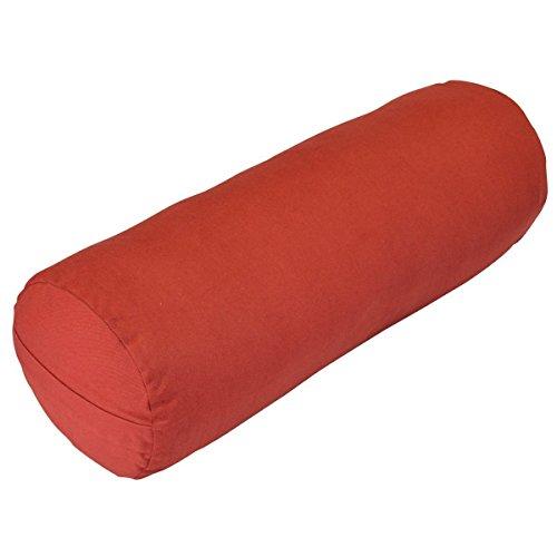 Yoga Direct Y042BOLMARR1 Traversin de Yoga de Soutien. Mixte, Rouge, Taille Unique