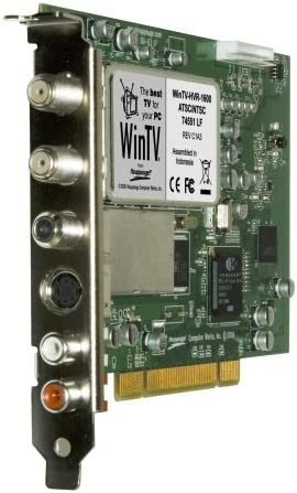 Hauppauge 1101 WinTV HVR-1600 Internal PCI Video Safety and trust Superior Dual TV Tuner R