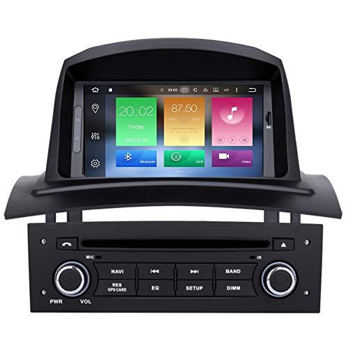 bester der welt TAFFIO® Android 9 Touchscreen Autoradio GPS Navi Bluetooth WiFi USB DVD für Renault Megane 2 2021