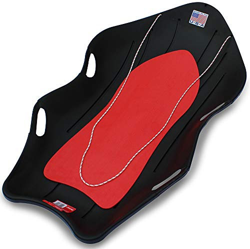 "Flexible Flyer Snow Boat Sled. 48"" Plastic Sno Slider Bobsled, 48 x 24 x 7.25 inches, Model:912"