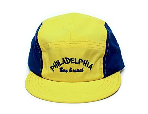 Posse Comitatus The Fresh Prince of Bel Air Philadelphia Born & Raised Hat Yellow/Royal Cap