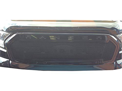 Zunsport Kompatibel mit Ford Ranger MK2 - Oberer Grill - Schwarz (2015 -)