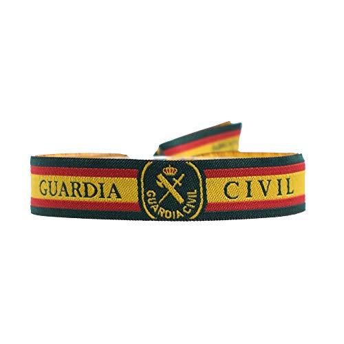 BDM Pulsera de la Guardia Civil con Escudo