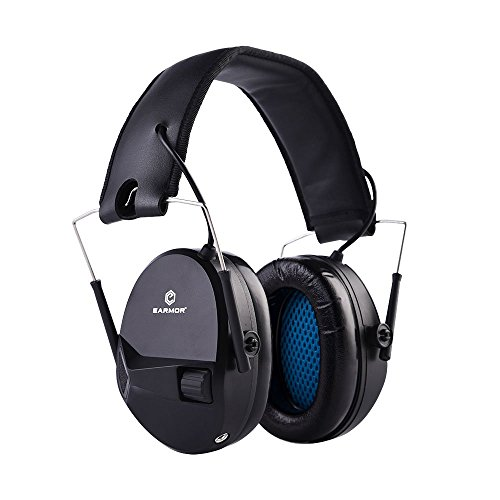 EARMOR Electronic Shooting Earmuffs - Ear Hearing...