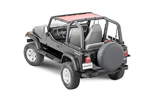 MasterTop 14200102 Jeep Wrangler Shademaker Bimini Summer Soft Top