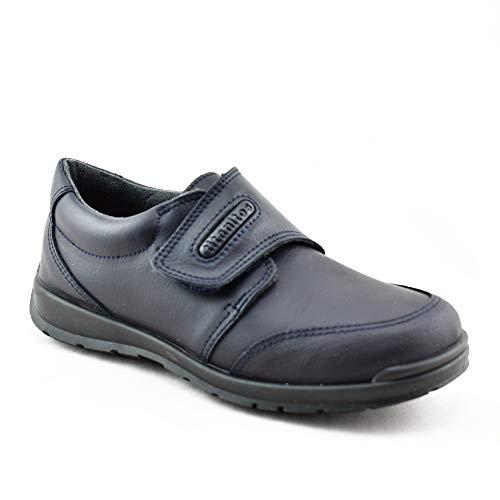 Titanitos Zapatos Colegiales Lavables niña Azul Marino Zeus (Talla 32)