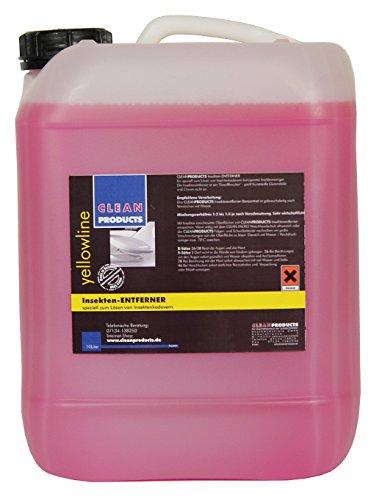 CLEANPRODUCTS Auto Insektenentferner Konzentrat 10 Liter - Mischung 1:3 bis 1:5