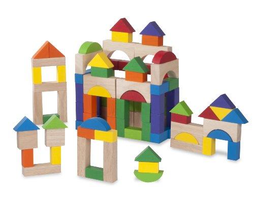 Andreu Toys WW-2521 Wonder Lot de 100 Blocs Multicolore 36 x 24 x 2 cm