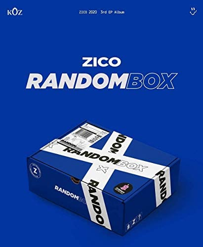 ZICO RANDOM BOX 3rd Mini Album CD Photo Book Lyrics Sticker Tape Key Ring Button TRACKING CODE product image