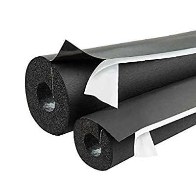 """Armaflex IPBST07834 Lap Self-Seal 7/8"""" x 3/4"""" Pipe Insulation - 120 Lineal Feet/Carton, Rubber"""