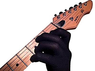 Black Bass Guitar Glove Two Pack