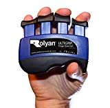 Rolyan Rolyan 568687 Ultigrip Finger Exercisers Blue 7-Pounds Finger & Grip Strengthener for Physical Therapy Ergonomic Hand Workout Aid Portable Hand Exerciser
