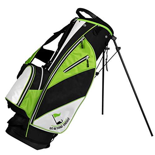 Jinxin-Golftasche Golfbag-Queue-Tasche mit Ständer kann mit Einem kompletten Satz leichtem tragbaren Gürtel ausgestattet Werden (Farbe : B)