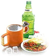 MBC Earthenware Healthcare Clay Drinking Beer Mug (Pack of 1) Brown