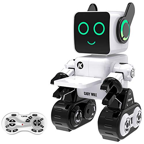Pranite RCロボット RCコントロールロボット 知能ロボット 充電式RCロボットキット リモコンスマートロボット 電動リモコンロボット 充電式おもちゃ 子供おもちゃ 知育玩具 スマートロボット 男の子おもちゃ 女の子おもちゃ 音声対話 録音可能 音