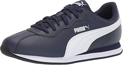 PUMA Men's Turin Sneaker, Peacoat White, 10 M US