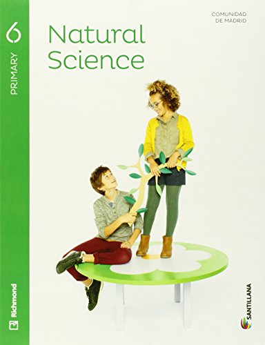 NATURAL SCIENCE 6 PRIMARY STUDENT'S BK + AUDIO - 9788468029078