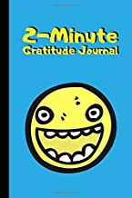 2-Minute Gratitude Journal: Kids Daily Journal to Promote Mindfulness and Gratitude in Children   Smiley Face Sky Blue