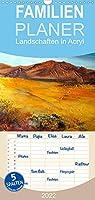 Landschaften in Acryl - Familienplaner hoch (Wandkalender 2022 , 21 cm x 45 cm, hoch): Deutschland, Toskana, Mallorca, Afrika in Acryl (Monatskalender, 14 Seiten )
