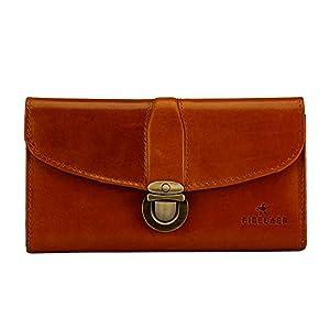 Finelaer Leather Clutch Purse Envelope Card Holder Wallet 7